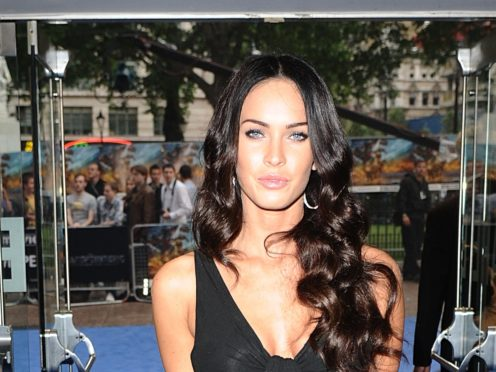 Megan Fox denied ever making a statement about mask-wearing after an apparently fake post claiming to be from her was shared online (Ian West/PA)