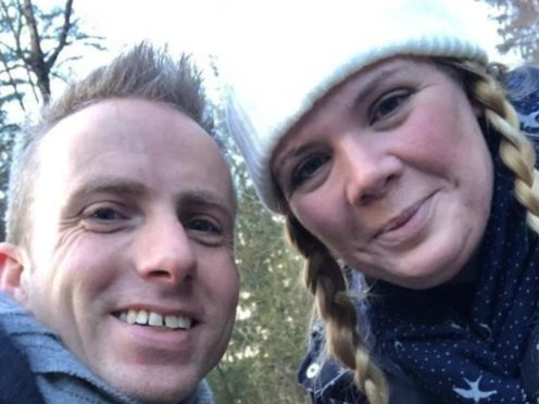 Lauren Biffen and Martin Green (Devon and Somerset Fire and Rescue Service/PA)
