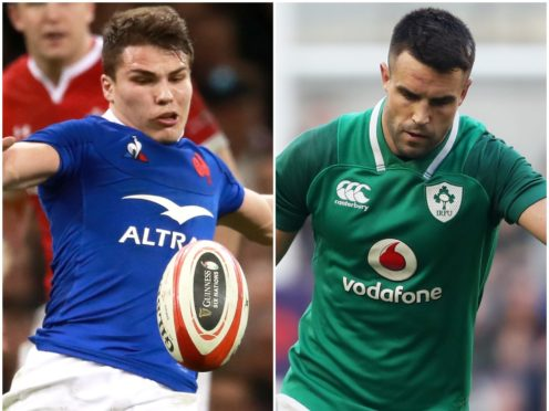 France star Antoine Dupont, left, and Ireland scrum-half Conor Murray are set to go head to head on Sunday (Adam Davy/Niall Carson/PA)