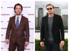 Matthew McConaughey and Leonardo DiCaprio (PA)