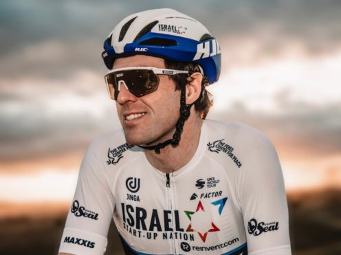 Alex Dowsett will begin his season at the UAE Tour this week (Noa Arnon/Israel Start-Up Nation handout)