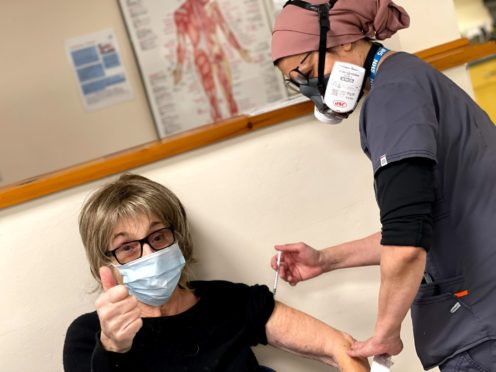 Royle Family star Sue Johnston is the latest stars to publicly announce they have been vaccinated against coronavirus (Amar Ahmed/PA)