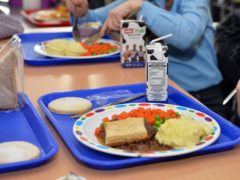 Nicola Sturgeon was urged to give all primary school pupils free school meals now (Jacqui Bradley/North Lanarkshire/PA)