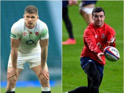 Owen Farrell and George Ford are competing to be England's starting fly-half against Italy (David Davies/PA)