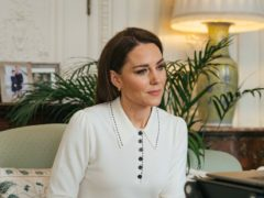 The Duchess of Cambridge has chatted to users of the London baby bank Little Village (Kensington Palace)