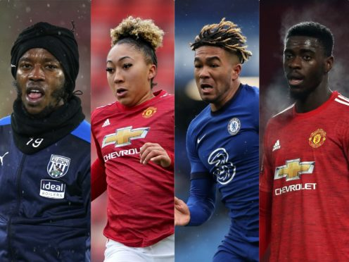 Romaine Sawyers, Lauren James, Reece James and Axel Tuanzebe have all been targeted recently (PA)