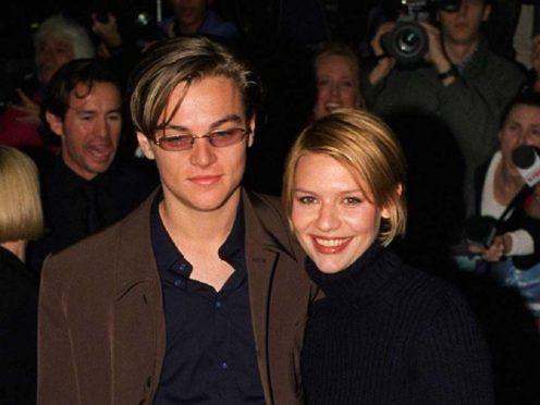 Leonardo DiCaprio and Claire Danes (Sam Pearce/PA)