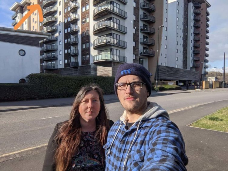 Rebecca Ashwin and Jack Sandrey (Handout/PA)