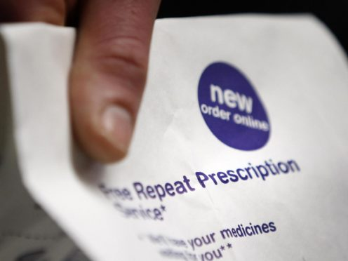 Patients in Scotland, Wales and Northern Ireland are all entitled to free prescriptions (Danny Lawson/PA)