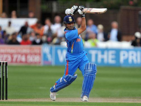 India's Sachin Tendulkar (Clive Gee/PA)