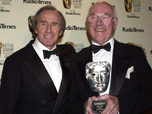 Jackie Stewart (left) says Murray Walker will never be forgotten (William Conran/PA)