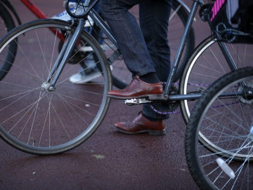 Pedal bike thefts have jumped by two-thirds since the coronavirus lockdowns started, according to Admiral home insurance (Chris Radburn/PA)
