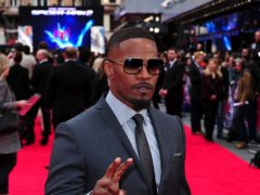 Jamie Foxx will play Mike Tyson in a TV series based on the controversial boxer's life, it has been announced (Ian West/PA)