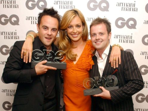 Ant and Dec with Cat Deeley (Ian West/PA)