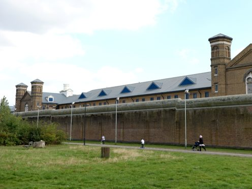 A general view of HMP Wormwood Scrubs (Andrew Matthews/PA)