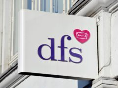 A surge in online sales made up for stores closing during lockdown, DFS said (Nick Ansell/PA)