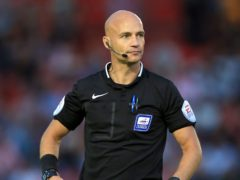 Referee Darren Drysdale had issued an apology for his behaviour (Mike Egerton/PA)