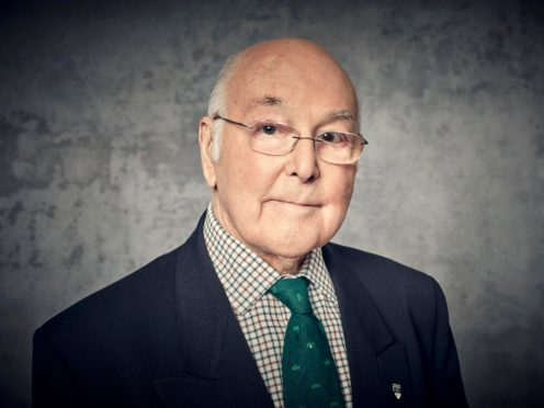 Murray Walker's voice was synonymous with Formula One (Channel 4 handout/PA).