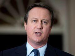David Cameron (Hannah McKay/PA)