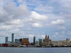 The River Mersey and Liverpool's waterfront (Peter Byrne/PA)
