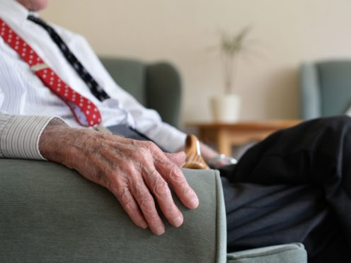 Every resident will be able to nominate a person to visit them indoors (PA)