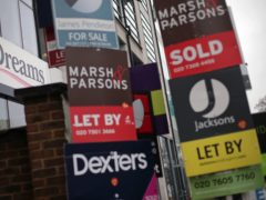 Renters could be putting their tenancies as well as their possessions at risk by not having contents cover in place, Nationwide Building Society said (Yui Mok/PA)