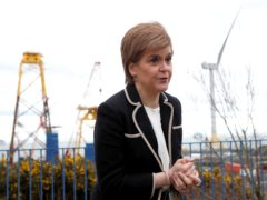 First Nicola Sturgeon has defended the Government's 'activist' investments which she says have protected jobs, including at BiFab (Andrew Milligan/PA)