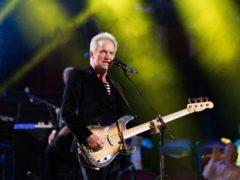 Sting performing at the Royal Albert Hall (David Mirzoeff/PA)