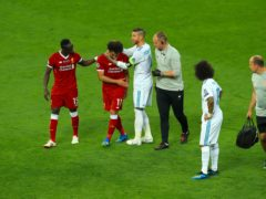 Liverpool forward Mohamed Salah insists he is not looking for revenge on Real Madrid's Sergio Ramos