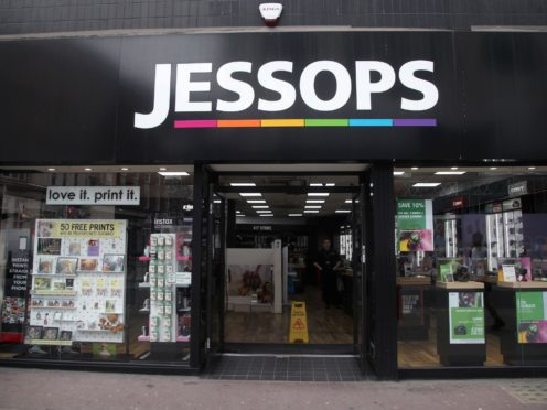 A branch of Jessops on Oxford Street, central London. The camera chain is considering a CVA restructuring after filing to hire administrators (Yui Mok/PA)