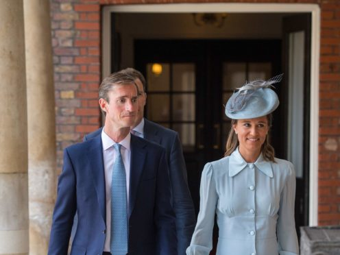 Pippa Matthews and her husband James have welcomed their second child (Dominic Lipinski/PA)