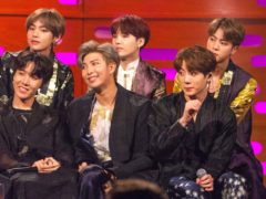 K-pop superstars BTS scored the biggest album in the world last year with Map Of The Soul: 7 (Tom Haines/PA)