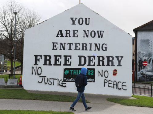 Committal proceedings against a former soldier have begun in Londonderry (Liam McBurney/PA)