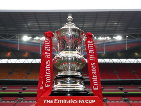 The FA Cup final in May will be a test event for the larger-scale return of fans to venues this summer, the Government has confirmed (PA)