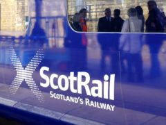 Passengers face significant delays during the industrial action by conductors (Jane Barlow/PA)