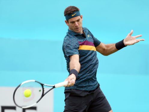 Juan Martin Del Potro has not played since Queen's in 2019 (Steven Paston/PA)