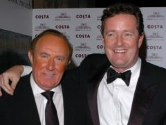 Andrew Neil and Piers Morgan are two of the UK's most high-profile media figures (Joel Ryan/PA)