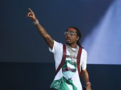 Quavo from Migos (Isabel Infantes/PA)