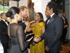 Beyonce is the latest celebrity to share a message of support for the Duchess of Sussex following her incendiary interview with Oprah Winfrey (Niklas Halle'n/PA)
