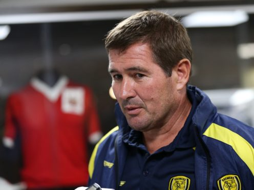Nigel Clough was upset with Mansfield's loss to Crawley (Barrington Coombs/PA)