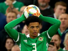 Jamal Lewis is an injury doubt for Northern Ireland's match against Italy on Thursday night (Liam McBurney/PA)