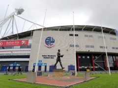 Two temporary courtrooms have been set up at the University of Bolton Stadium (Richard Sellers/PA)