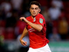 Owen Dale is one of a handful of players hoping to be recalled to the Crewe team on Tuesday night (Nigel French/PA)