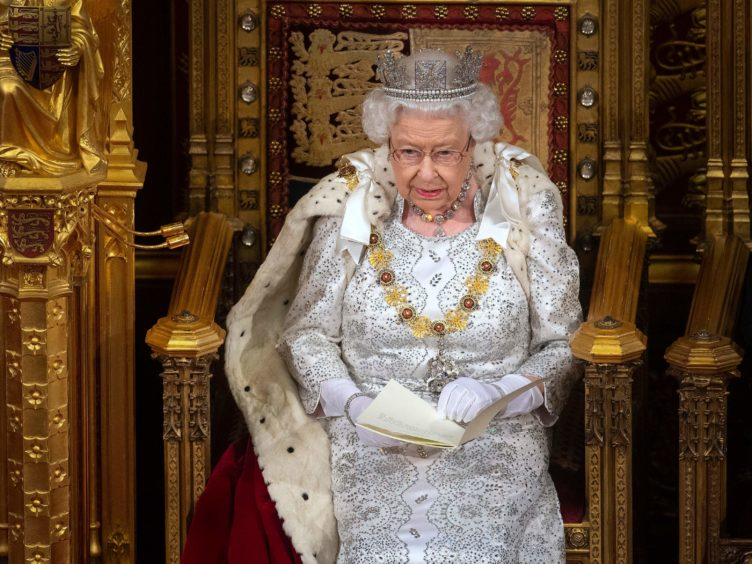 The Queen's Speech in May is set to be a scaled-back event due to coronavirus restrictions (Victoria Jones/PA)