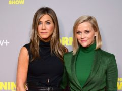 Jennifer Aniston wished co-star and 'actual ray of sunshine' Reese Witherspoon a happy birthday (Ian West/PA)