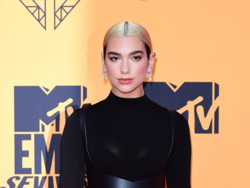 Playlists are being launched on Apple Music to help young people with speech sound disorders and a song from Dua Lipa will be included (Ian West/PA)