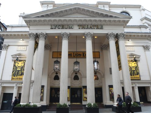 The Lyceum Theatre (Luciana Guerra/PA)