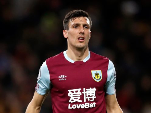 Jack Cork is an injury doubt with a hamstring problem (Martin Rickett/PA)