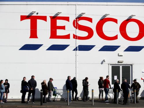 Tesco has responded to investors calling for it to boost sales of healthy food and drink (Nick Potts/PA)