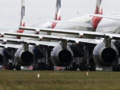 The UK has lost more than twice as many jobs in aviation and related industries during the coronavirus pandemic than France or Germany, according to new figures (Andrew Milligan/PA)